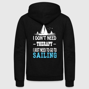 GO TO SAILING SHIRT - Unisex Fleece Zip Hoodie