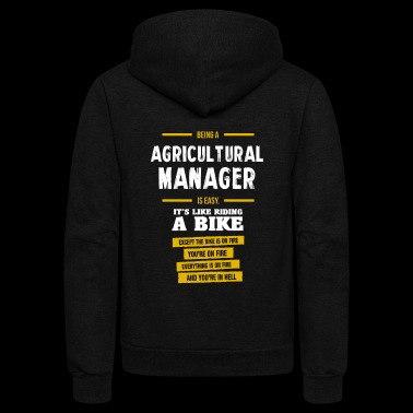 agricultural manager - Unisex Fleece Zip Hoodie