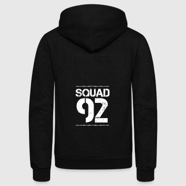 Team Verein Squad Party Crew member jga malle 92 - Unisex Fleece Zip Hoodie