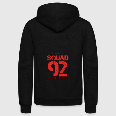 Team Verein Squad Party Member Crew jga malle 92 - Unisex Fleece Zip Hoodie