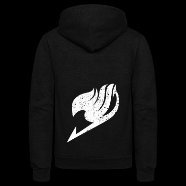 Black fairy Tail - Unisex Fleece Zip Hoodie