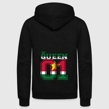 partner land king 01 prince Suriname - Unisex Fleece Zip Hoodie