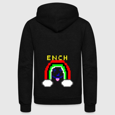EnCh - Unisex Fleece Zip Hoodie by American Apparel