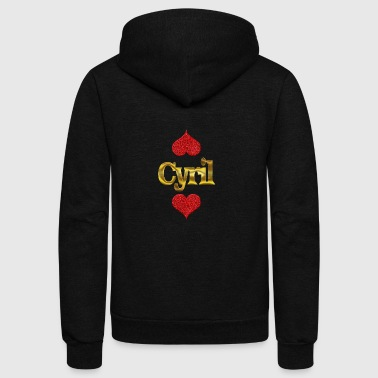 Cyril - Unisex Fleece Zip Hoodie by American Apparel
