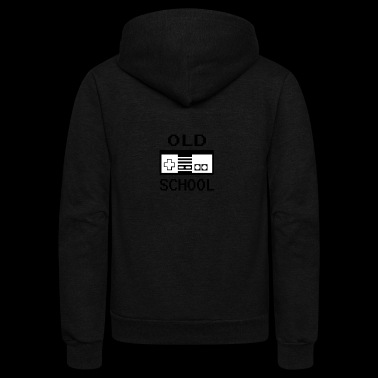 Old School - Unisex Fleece Zip Hoodie