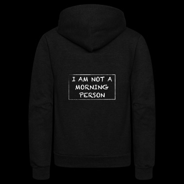 MORNING - Unisex Fleece Zip Hoodie