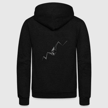 Invest Ethereum Hodl Repeat - Unisex Fleece Zip Hoodie