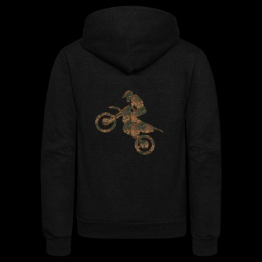 Rust Motocross - Unisex Fleece Zip Hoodie
