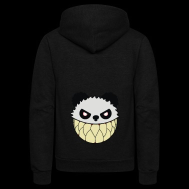 Panda Revolution - Unisex Fleece Zip Hoodie