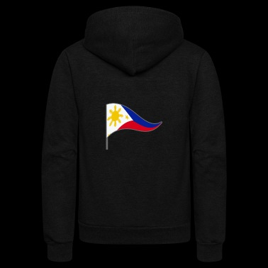 Philippines Manila Filipino Flag Banner Flags - Unisex Fleece Zip Hoodie