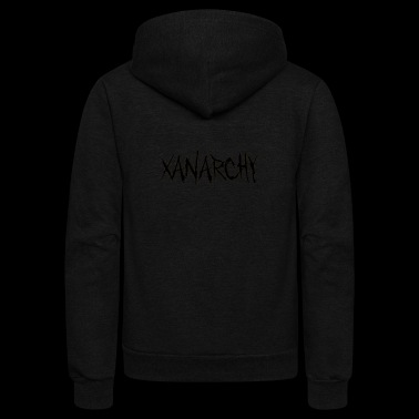 Xanarchy - Unisex Fleece Zip Hoodie
