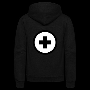 plus - Unisex Fleece Zip Hoodie