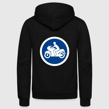 Traffic sign - Unisex Fleece Zip Hoodie