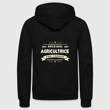 Original Farmer - Unisex Fleece Zip Hoodie