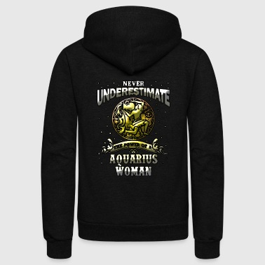 Aquarius Woman - Unisex Fleece Zip Hoodie