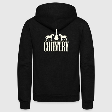 Country music - Unisex Fleece Zip Hoodie