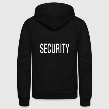 security - Unisex Fleece Zip Hoodie