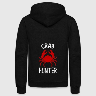 crab hunter - Unisex Fleece Zip Hoodie by American Apparel