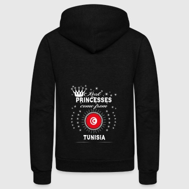 queen love princesses TUNISIA - Unisex Fleece Zip Hoodie