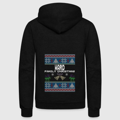 Ugly Ward Christmas Family Vacation Tshirt - Unisex Fleece Zip Hoodie by American Apparel