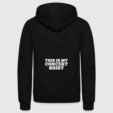 Concert Shirt gift for Concert Goers - Unisex Fleece Zip Hoodie