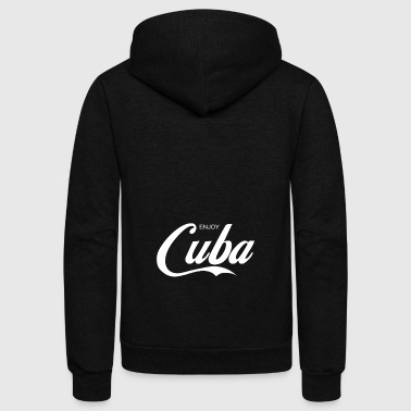 enjoy CUBA - Unisex Fleece Zip Hoodie