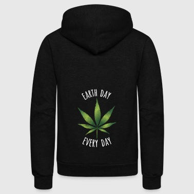 Hemp Day - Unisex Fleece Zip Hoodie
