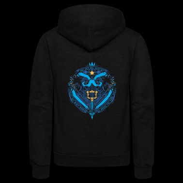 Kingdom Hearts - Kingdom Hearts - there are many - Unisex Fleece Zip Hoodie