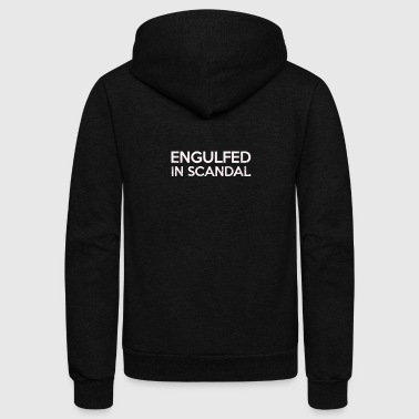 Engulfed In Scandal - Unisex Fleece Zip Hoodie