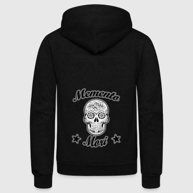 Death Reminder Shirt Memento Mori - Unisex Fleece Zip Hoodie