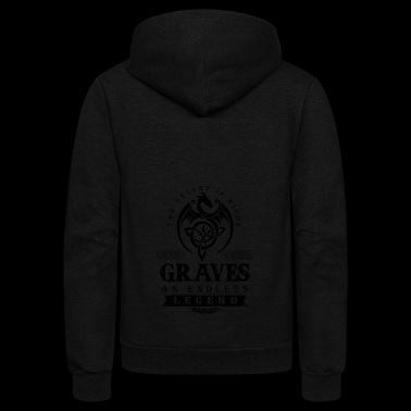 GRAVES - Unisex Fleece Zip Hoodie