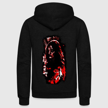 Bloody Mary - Unisex Fleece Zip Hoodie by American Apparel