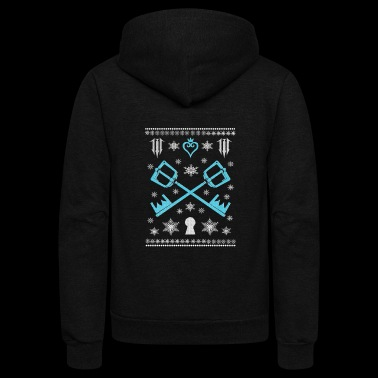 Kingdom hearts - Kingdom hearts - kingdom christ - Unisex Fleece Zip Hoodie