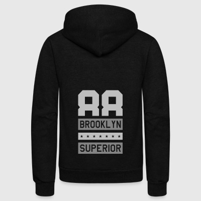 88 Brooklyn Superior - Unisex Fleece Zip Hoodie by American Apparel
