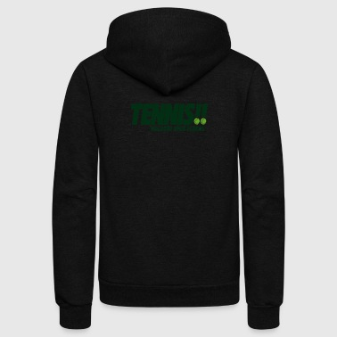 Tennis Waldorf High School - Unisex Fleece Zip Hoodie