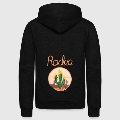 Travis Scott - Rodeo - Unisex Fleece Zip Hoodie by American Apparel