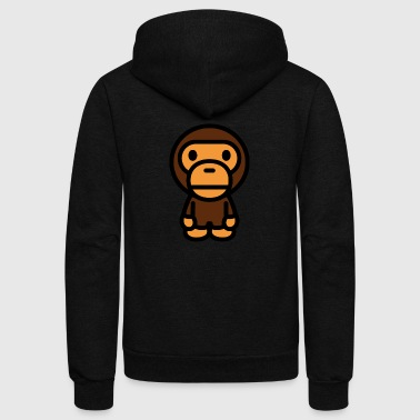 Bathing Ape - Unisex Fleece Zip Hoodie by American Apparel