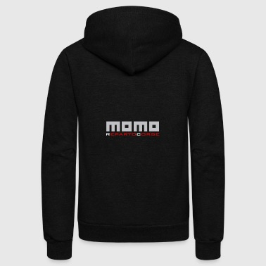 Momo Auto Tuning Motori - Unisex Fleece Zip Hoodie by American Apparel