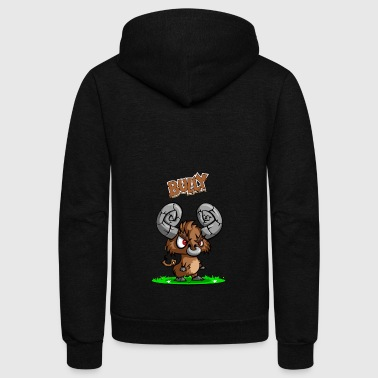 Bully - Unisex Fleece Zip Hoodie