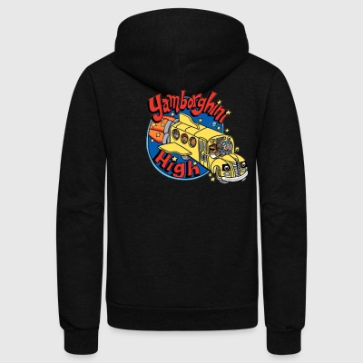 yamborghini high - Unisex Fleece Zip Hoodie by American Apparel