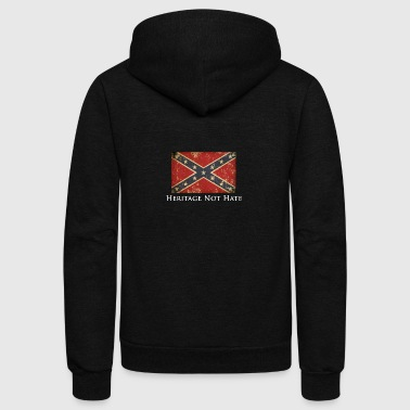 Heritage Not Hate - Unisex Fleece Zip Hoodie