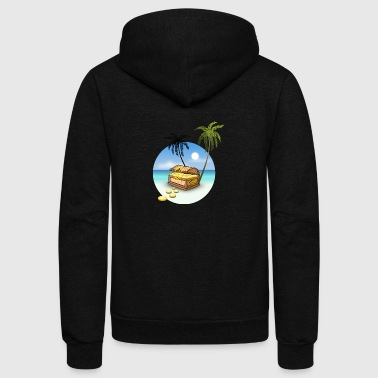 Treasure - Unisex Fleece Zip Hoodie