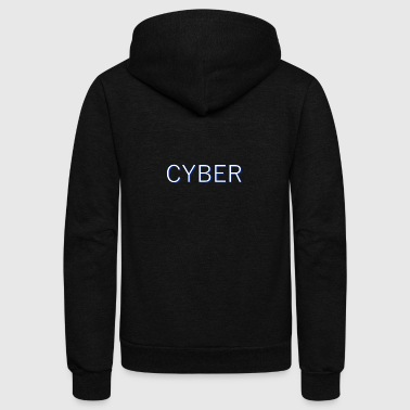Cyber Simple - Unisex Fleece Zip Hoodie
