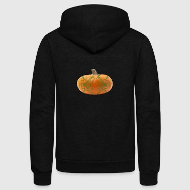 pumpkin vines - Unisex Fleece Zip Hoodie