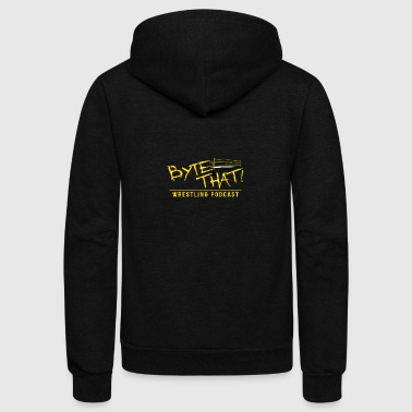 Byte That Wrestling Podcast Logo Clothing - Unisex Fleece Zip Hoodie