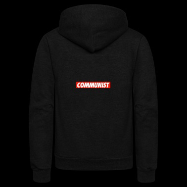 COMMUNIST - Unisex Fleece Zip Hoodie