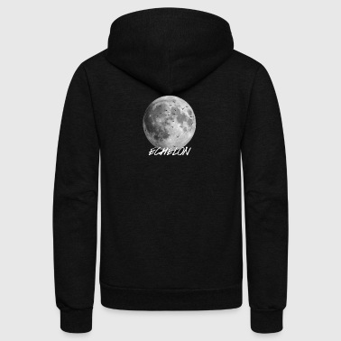Echelon Dark Moon - Unisex Fleece Zip Hoodie by American Apparel