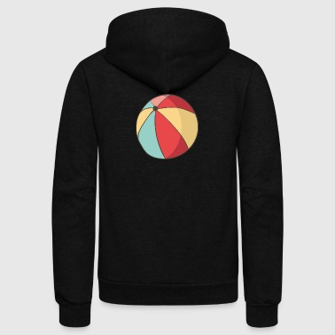 ball 2 - Unisex Fleece Zip Hoodie
