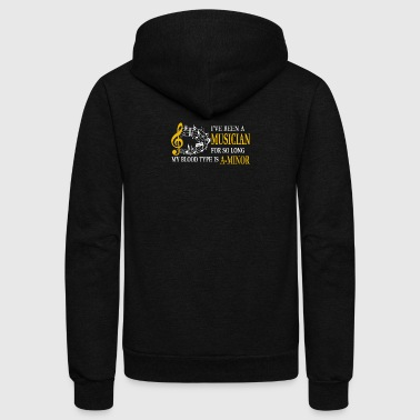 Musician Tee Shirt - Unisex Fleece Zip Hoodie by American Apparel