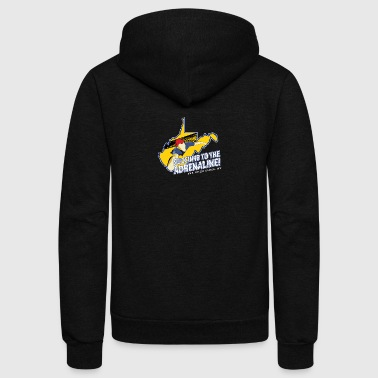 New River Gorge Bridge Day - Unisex Fleece Zip Hoodie